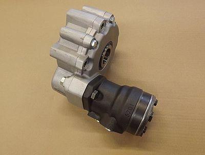 Getriebe mit angeflanschtem Hydromotor