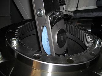 Internal profile grinding